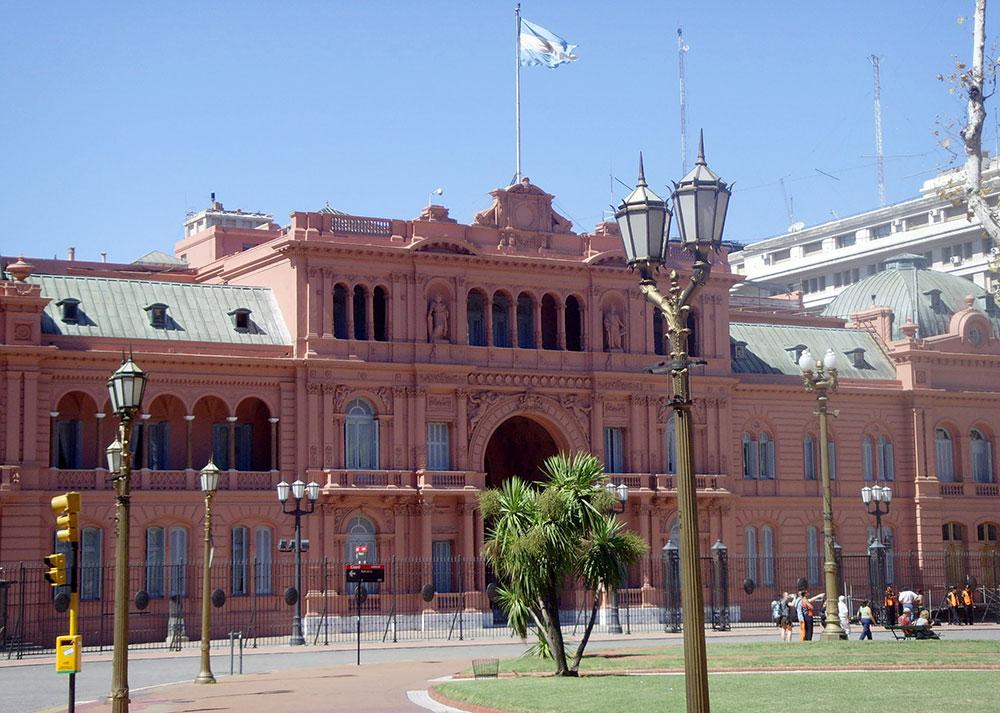Argentina Gay: Casa Rosada, em Buenos Aires - Foto: Gabriel Saraiva