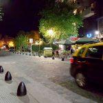 Onde ficar em Buenos Aires: Cyan Hotel Recoleta - rua da frente do hotel