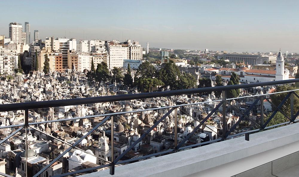 Onde ficar em Buenos Aires: Cyan Hotel Recoleta - Vista Cemitério - Foto: Divulgação