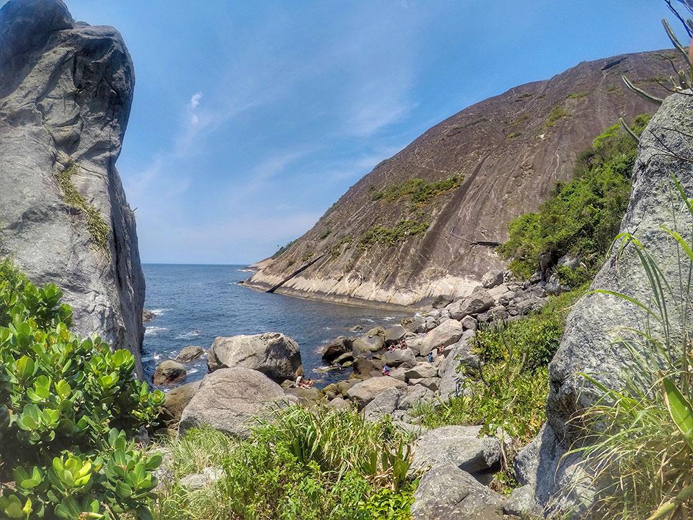 A vista vale a pena - Costão do Itacoatiara, em Niterói (RJ)