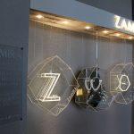 Joias em exposição no Puerto Norte Design Hotel