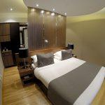 Meu quarto no Puerto Norte Design Hotel, em Rosário, na Argentina