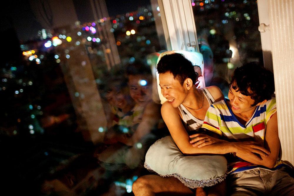 Foto do projeto The Pink Choice, do Vietnã, que descobri planejando minha lua de mel na Ásia - Foto: Maika Elan
