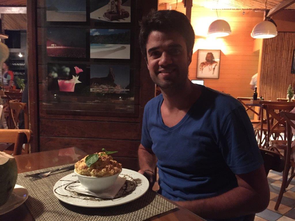 A comida de Fernando de Noronha é uma delícia, apesar de cara - Foto: Antonio e André