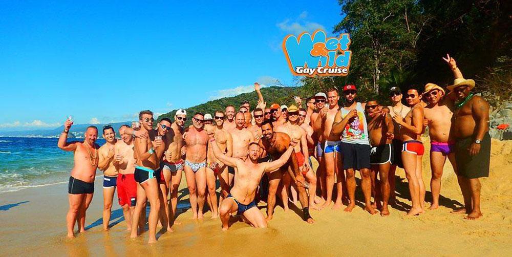Cruzeiro gay Wet & Wild Gay Cruise faz parte das festas LGBT em Puerto Vallarta, México - Foto: Divulgação