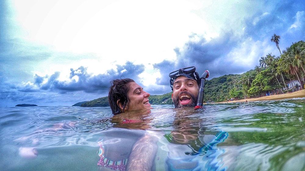 Aventura em Ilha Grande: Só alegria! - Foto: Jeff Slaid