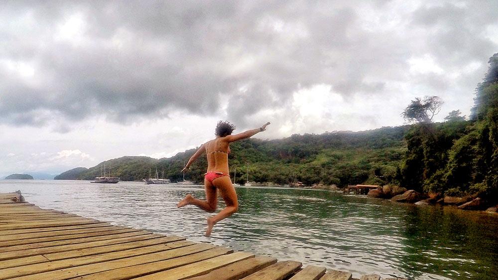 Aventura em Ilha Grande: Para o alto e avante, bi! - Foto: Jeff Slaid