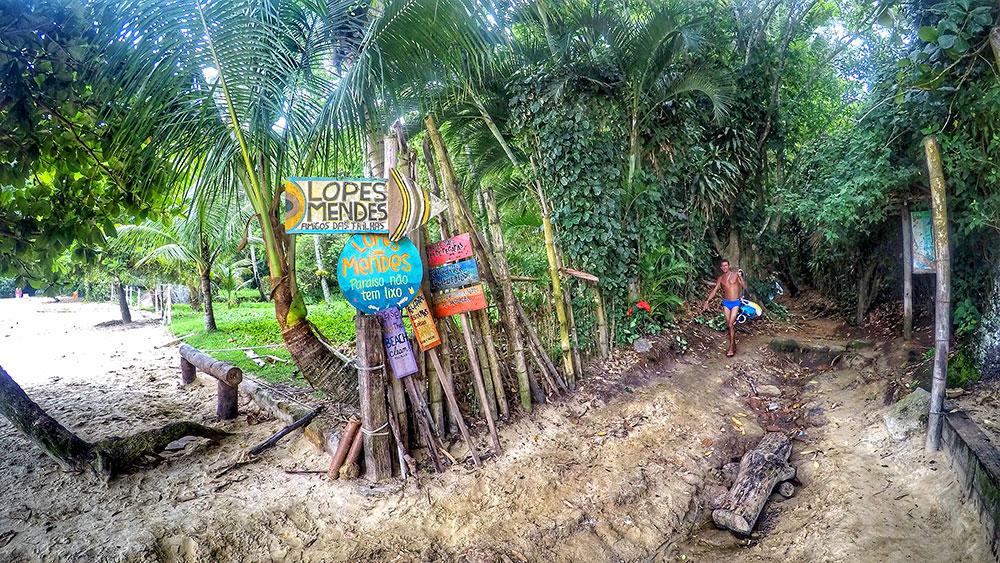 Aventura em Ilha Grande: A trilha final - Foto: Jeff Slaid