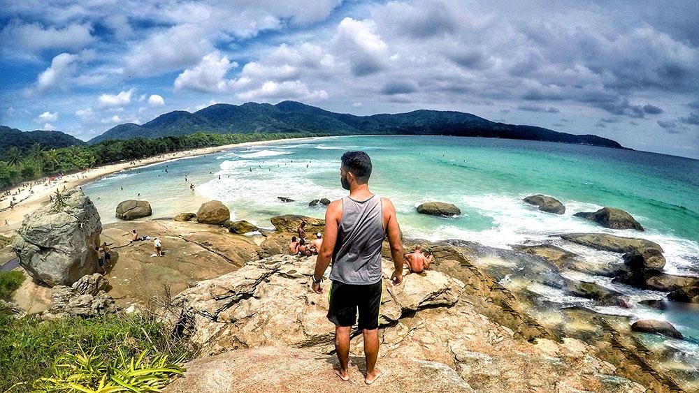 Aventura em Ilha Grande: E pensar que a previsão era só de chuva! - Foto: Jeff Slaid