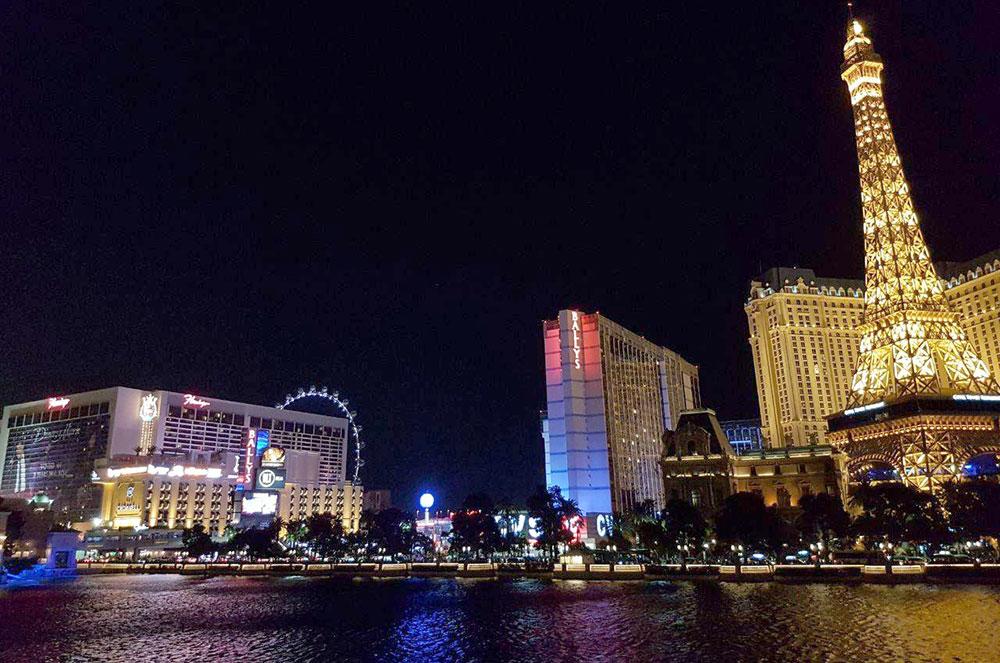 Hotéis Flamingo, Bally's e Paris - Eventos LGBT em Las Vegas - Foto: Nathalia Leick / Viaja Bi!