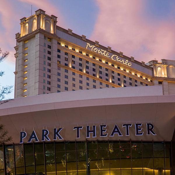 Park Theater at Monte Carlo, que recebe shows de Ricky Martin, Bruno Mars e Cher - Eventos LGBT em Las Vegas - Foto: Divulgação
