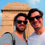 André e Antonio arrasando em Nova Delhi, na Índia - Foto: Antonio & André