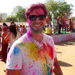 Holi Festival: Antonio coloriu - Foto: Antonio & André