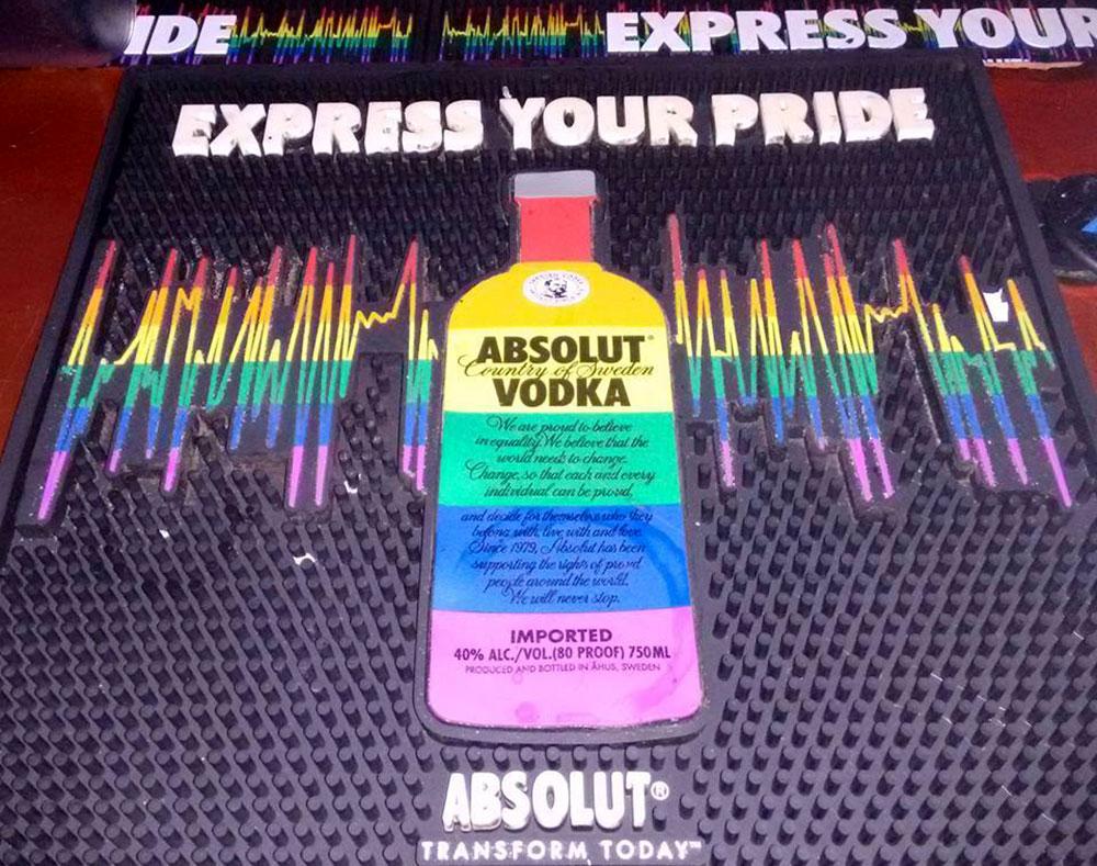 Panorama do Turismo LGBT: A Absolut é uma das grandes empresas que tem o consumidor LGBT como prioridade - Foto: Clovis Casemiro