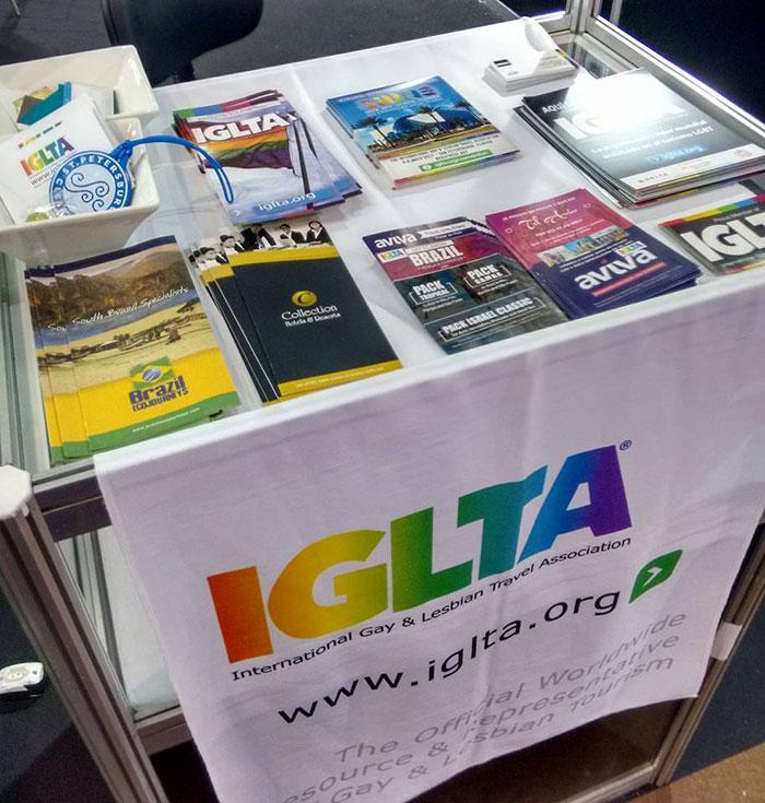 Panorama do Turismo LGBT: Stand de turismo LGBT na WTM Latin America, oportunidades e opções no Brasil e exterior - Foto: Clovis Casemiro