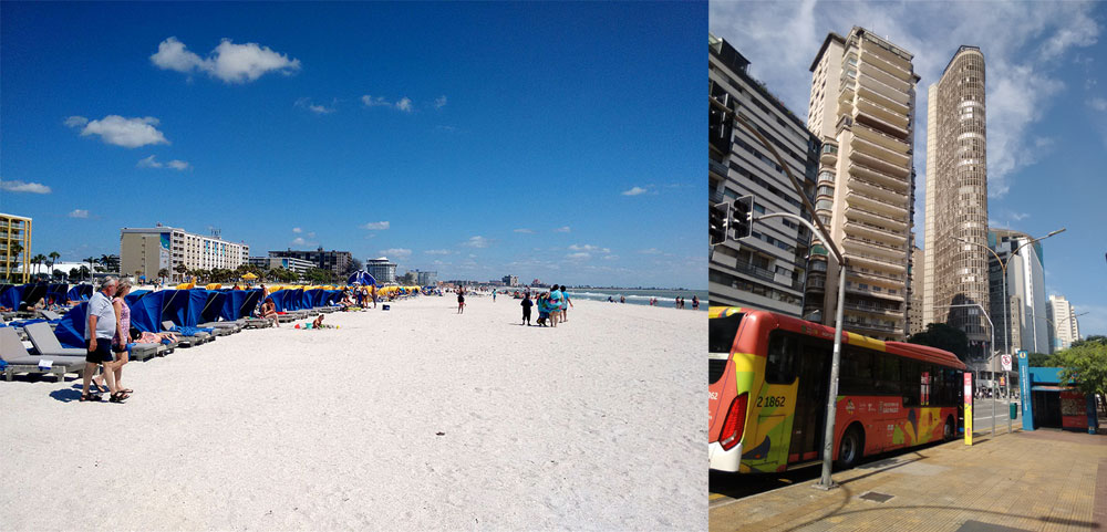 Panorama do Turismo LGBT: Turismo de praia, nos EUA e Euopa. e turismo urbano - Foto: Clovis Casemiro