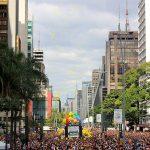 Bexigas coloriram o céu de São Paulo na Parada LGBT