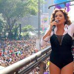 Daniela Mercury no trio da Skol na Parada LGBT São Paulo 2017
