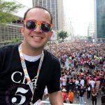 Rafael Bolacha arrasando na Parada LGBT São Paulo 2017