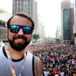 Eu arrasando na Parada LGBT São Paulo 2017