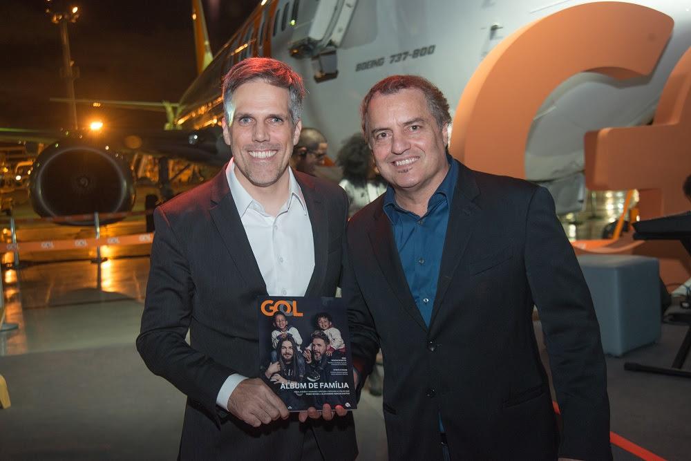 Paulo Sérgio Kakinoff (Presidente da GOL) e Paulo Lima (Fundador da Editora TRIP) - Foto: Julio Rua