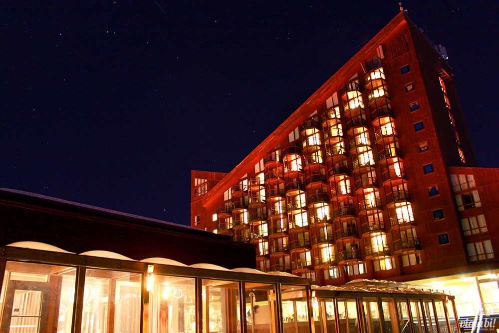 Hotel Puerta Del Sol, o 4 estrelas do complexo do Valle Nevado Ski Resort