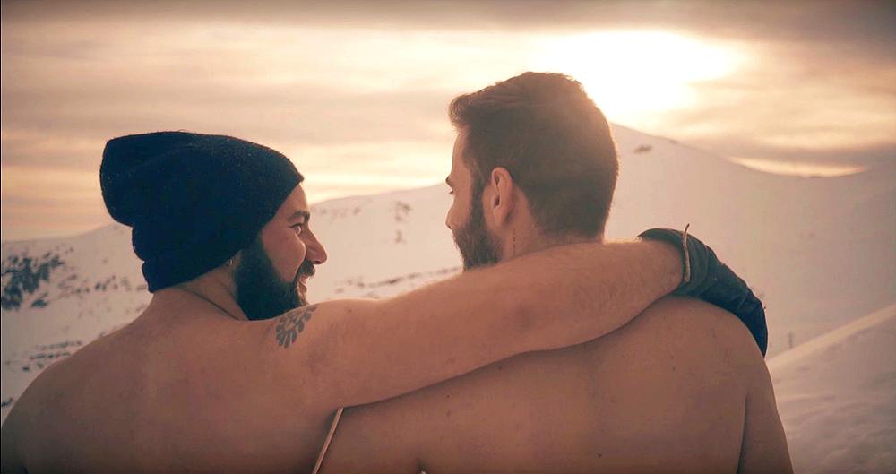 """Gravei """"Sua Barba"""", paródia do Fer Escarião de """"Sua Cara"""" no Valle Nevado, no Chile - Foto: Robson Franzoi"""