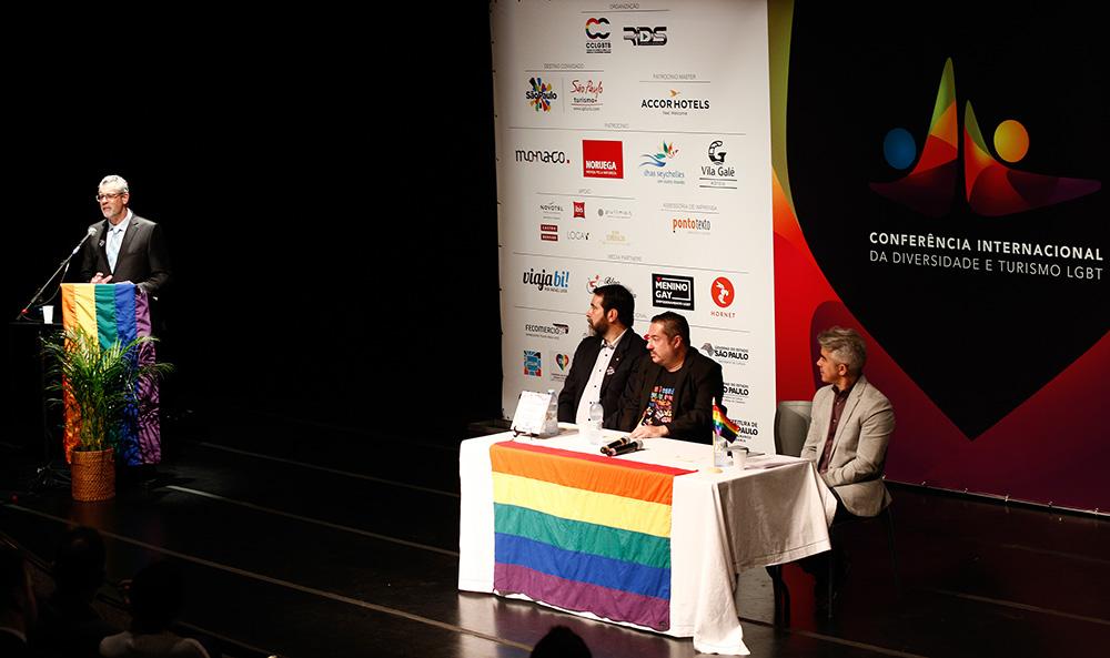 Solenidade de abertura da 1ª Conferência Internacional da Diversidade e Turismo LGBT - Foto: Ricardo Cardoso