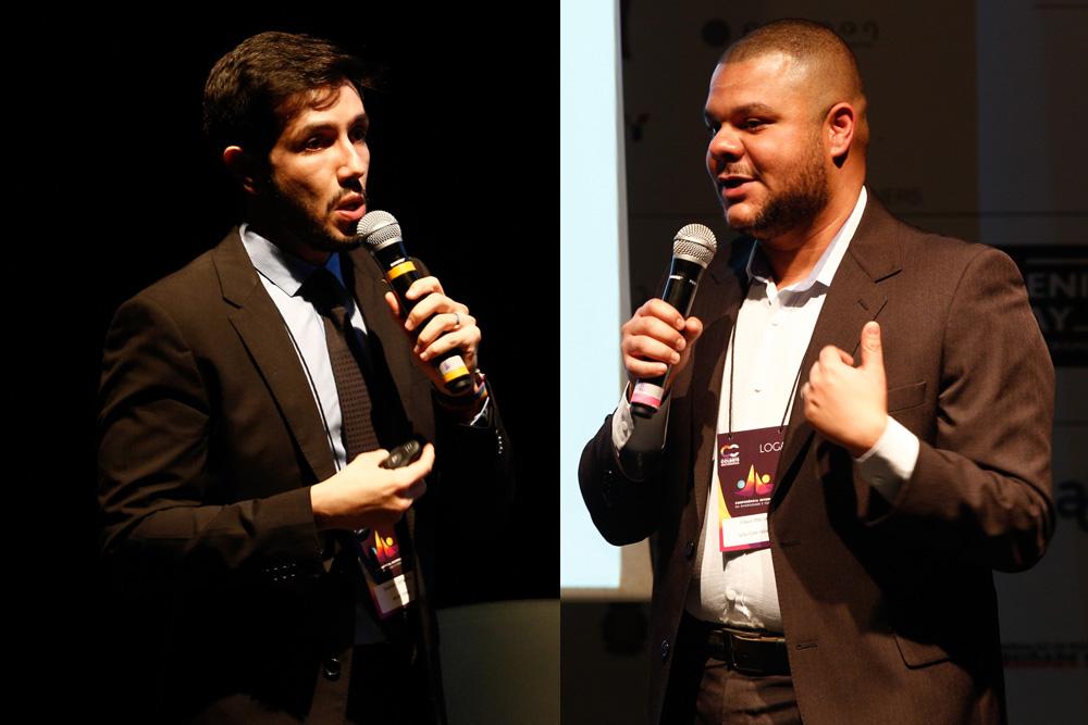Ewerton Camarano e Flavio Manoel debatem a hotelaria LGBT na 1ª Conferência Internacional da Diversidade e Turismo LGBT - Foto: Ricardo Cardoso