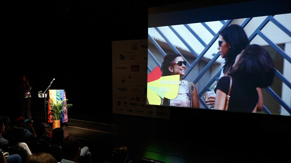Fernanda Oda apresenta vídeo de SP friendly na 1ª Conferência Internacional da Diversidade e Turismo LGBT - Foto: Ricardo Cardoso