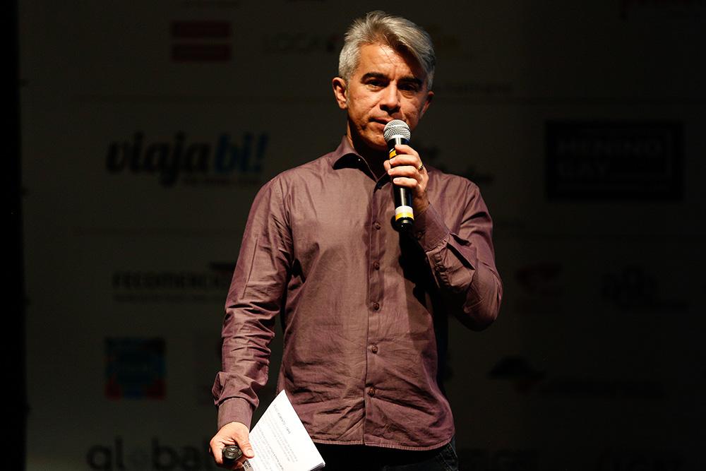 Ivan Batista representando a Prefeitura de SP na 1ª Conferência Internacional da Diversidade e Turismo LGBT - Foto: Ricardo Cardoso