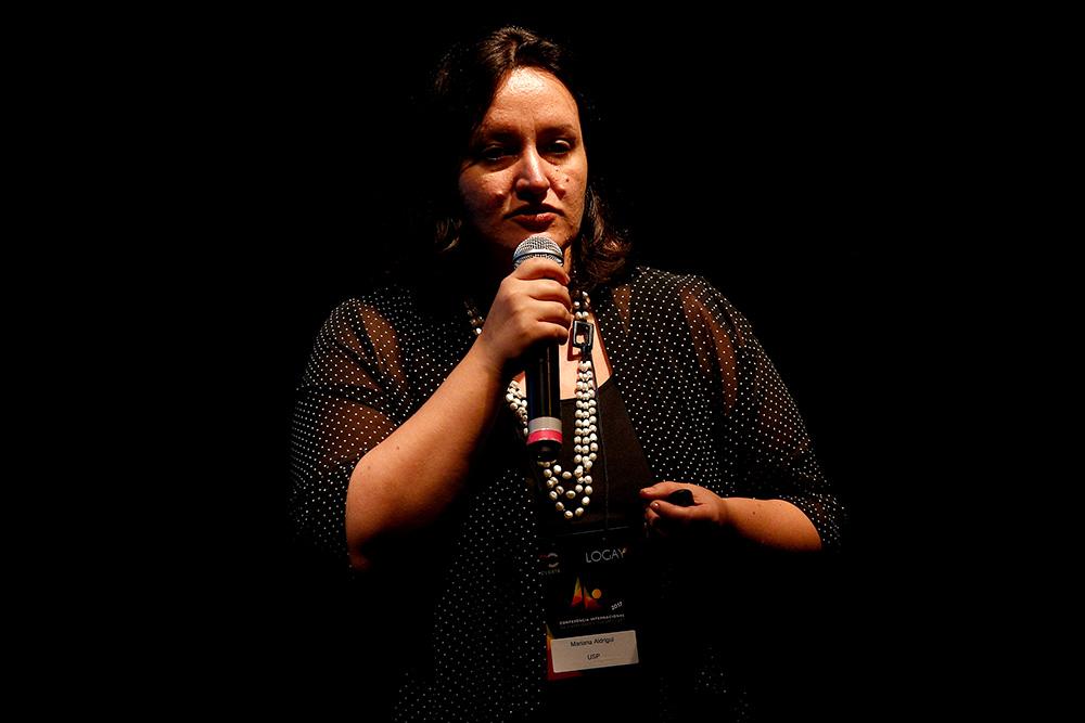 Mariana Aldrigui na 1ª Conferência Internacional da Diversidade e Turismo LGBT - Foto: Ricardo Cardoso