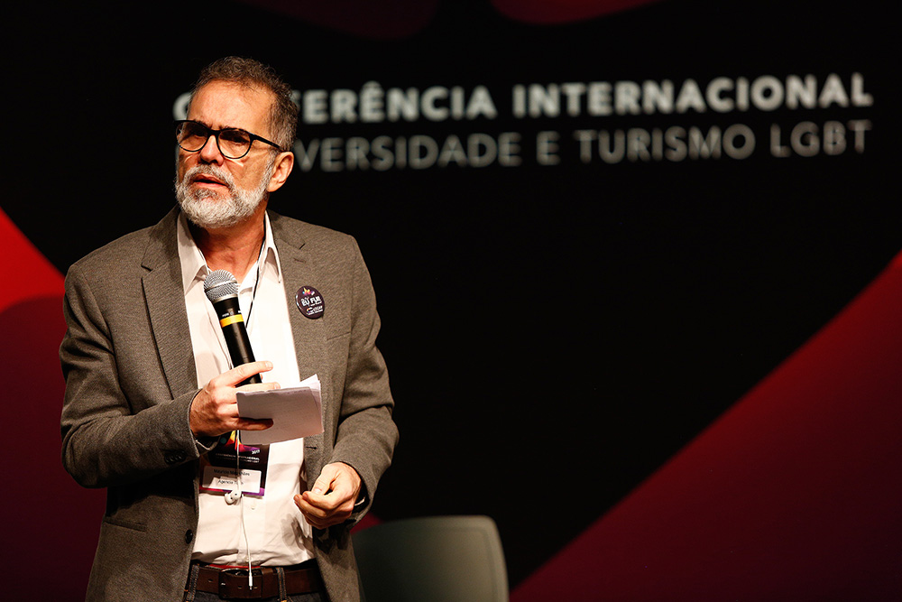Maurício Magalhães abre a 1ª Conferência Internacional da Diversidade e Turismo LGBT - Foto: Ricardo Cardoso