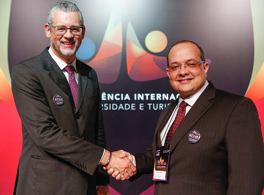 Ricardo Gomes e Marcelo Michieletto anunciam fusão da CCLGBTB e da ABTLGBT - Foto: Ricardo Cardoso