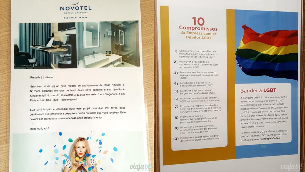Novotel Jaraguá, em São Paulo, mostra porque é um hotel gay friendly