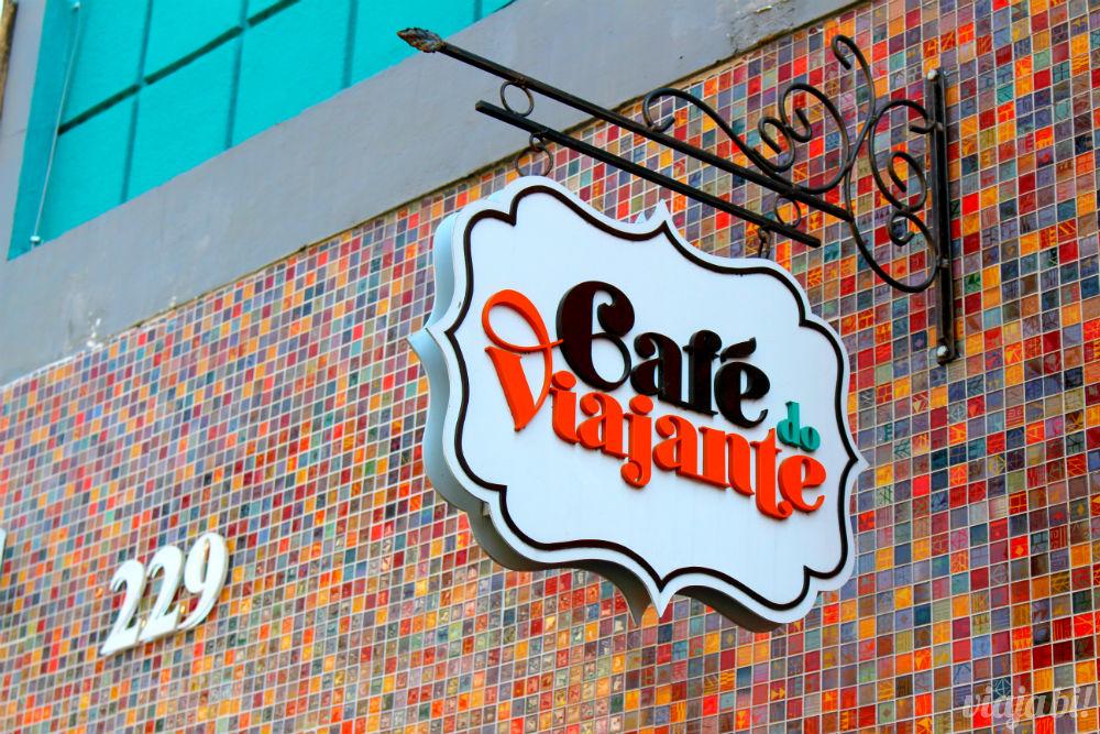 Fachada do Café do Viajante, o melhor café em Curitiba