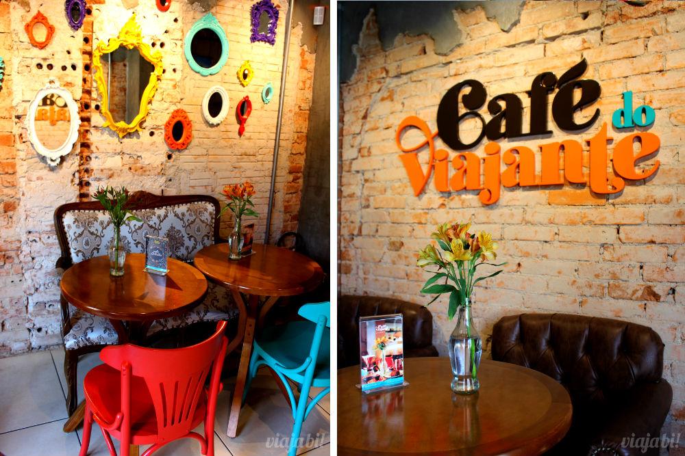Cantinhos de Paris e de Londres no Café do Viajante, o melhor café em Curitiba