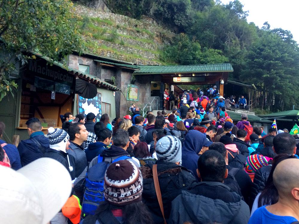 Como chegar a Machu Picchu: portão de acesso a Machu Picchu - Foto: Jeff Slaid