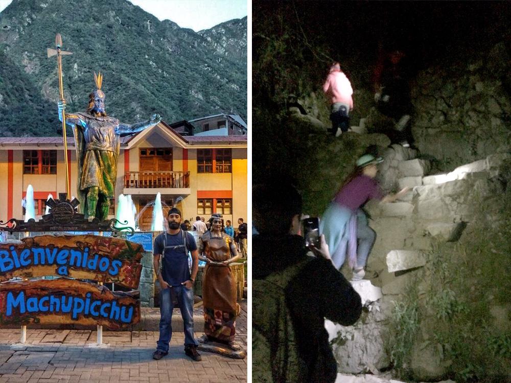Praça Machu Picchu / Sinta o drama das escadas da trilha O.o - Foto: Jeff Slaid