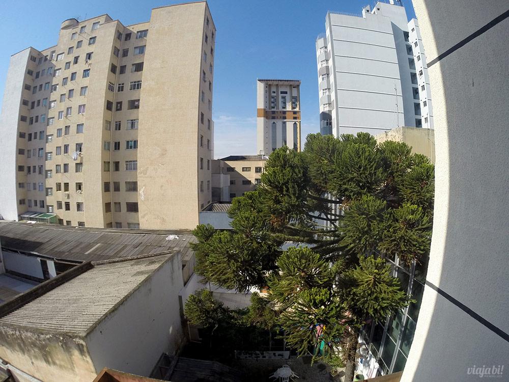 Vista da janela do Ibis Styles Centro Cívico