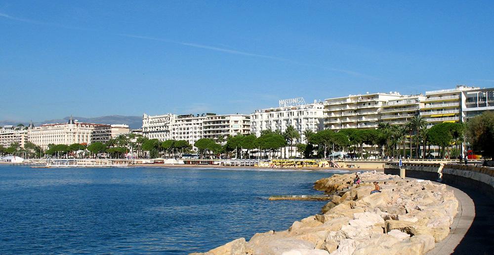 Melhores atrações e vida noturna gay na Riviera Francesa: Cannes Croisette - Foto: Wikimedia