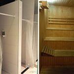 Hotel em Palermo: Chuveiros do vestiário e sauna no Vitrum Hotel