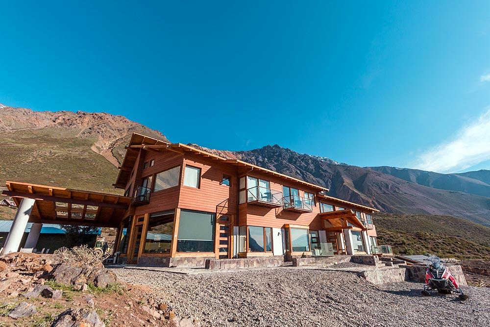Lodge El Morado, em Cajón del Maipo, Chile - Foto Eduardo Gregori